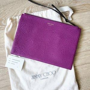 Jimmy Choo Vibrant Clutch & Dust Bag